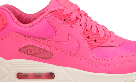 BUTY NIKE AIR MAX 90 (GS) PINK POW 724852 600