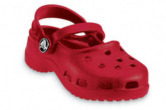 SANDAŁY CROCS MARY JANE RUBY RED 10034