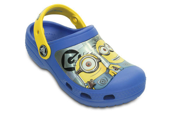 CHILDREN'S SHOES CROCS MINIONS 201311 VARSITY BLUE