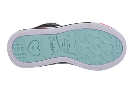CHILDREN'S SHOES SKECHERS SWEET HEART 10573L BKMT