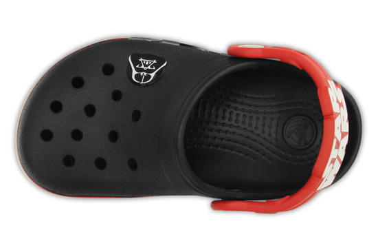 CROCS SHOES FLIP-FLOPS LIGHTS STAR WARS VADER 16160