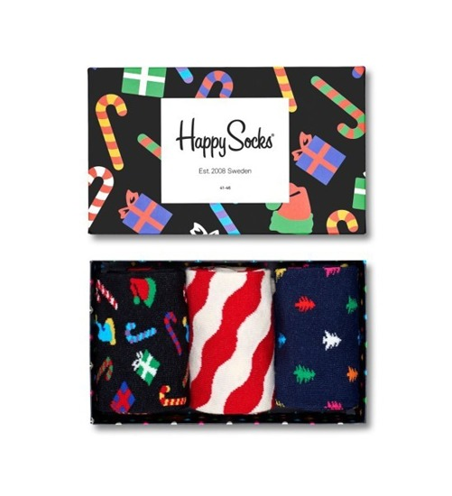 HAPPY SOCKS 3-PACK XMAS08 4000