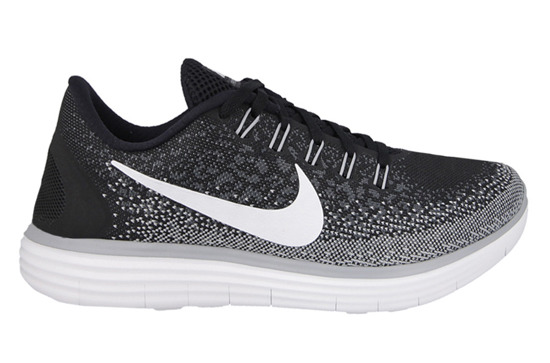 MEN'S SHOES NIKE FREE RN DISTANCE OREO 827115 010