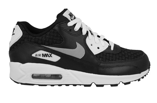 NIKE SHOES AIR MAX 90 PREMIUM MESH (GS) 724882 101