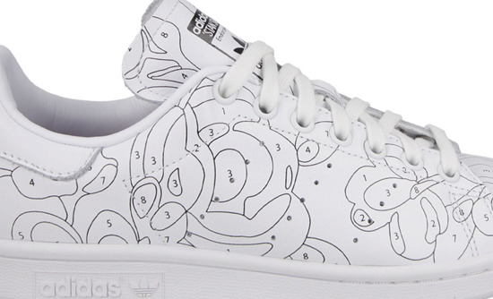 WOMEN'S SHOES ADIDAS ORIGINALS STAN SMITH RITA ORA S80292