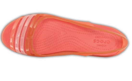 WOMEN'S SHOES CROCS ISABELLA HUARACHE 202463 CORAL