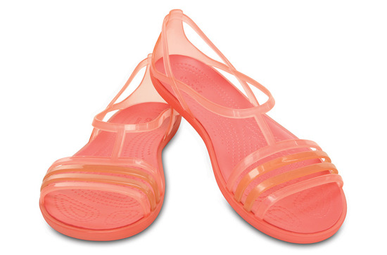 WOMEN'S SHOES CROCS ISABELLA SANDAL 202465 CORAL