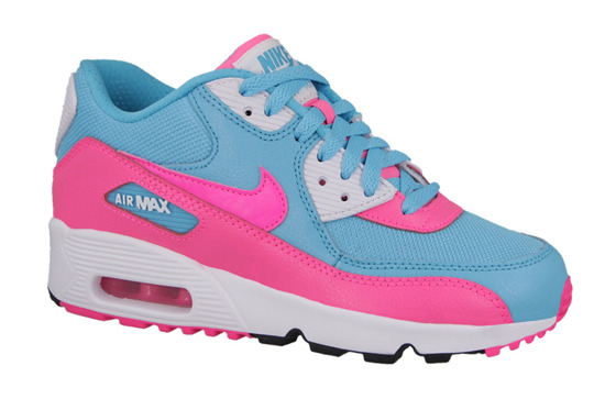 WOMEN'S SHOES NIKE AIR MAX 90 MESH (GS) 833340 400