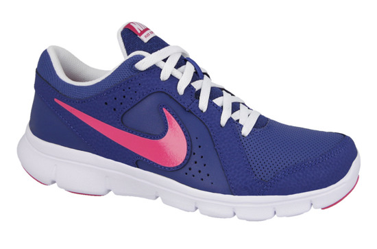 WOMEN'S SHOES NIKE FLEX EXPERIENCE LEATHER (GS) 631465 401