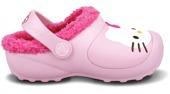CHILDREN'S SHOES FLIP-FLOPS  CROPS HELLO KITTY 11563 BUBBLEGUM