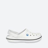 WOMEN'S SHOES CROCS FLIP-FLOPS CROCBAND 11016 WHITE