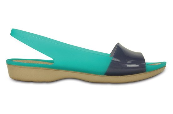 DAMEN SCHUHE CROCS COLORBLOCK 200032 TROPICAL