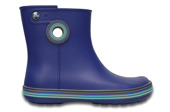 DAMEN SCHUHE GUMMISTIEFEL CROCS JAUNT GRAPHIC SHORTY 202317 CERULEAN