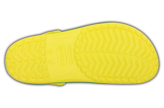 BUTY CROCSCROCBAND 11016 LEMON/GRASS GREEN