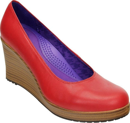 Czółenka CROCS CLOSED TOE D Red 14700-60%