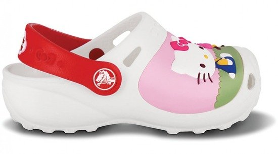 Klapki Crocs HELLO KITTY CUSTOM 11564-60%