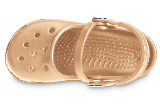 SANDAŁY CROCS MARY JANE 10034 GOLD