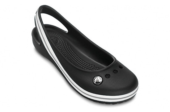 CHILDREN'S SHOES BALLERINA CROCS GENNA II GIRLS 11900 BLACK