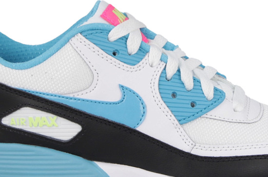 CHILDREN'S SHOES NIKE AIR MAX 90 MESH (PS) 833341 104