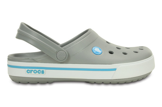CROCS SHOES FLIP-FLOPS CROCBAND II.5 CLOG 12836 LIGHT GREY