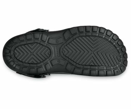 CROCS SHOES FLIP-FLOPS YUKON SPORT 10931 BLACK