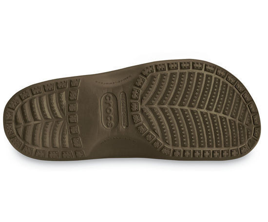 MEN'S SHOES FLIP-FLOPS CROCS YUKON 10123 CHOCOLATE