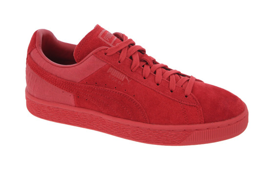 MEN'S SHOES PUMA SUEDE CLASSIC CASUAL EMBOSS 361372 03