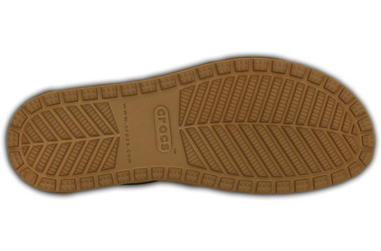 WOMEN'S SHOES CROCS ANNA ANKLE STRAP 203001 HAZELNUT