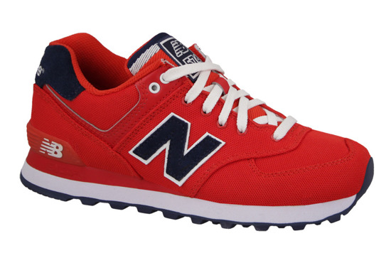 WOMEN'S SHOES NEW BALANCE POLO PACK WL574POR