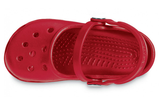 WOMEN'S SHOES SANDALS CROCS MARY JANE RUBY RED 10034
