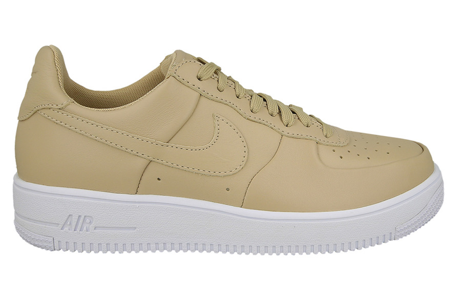 1e5a5571bdb502 BUTY NIKE AIR FORCE 1 ULTRAFORCE LEATHER 845052 200 BEŻOWY/KREMOWY ...