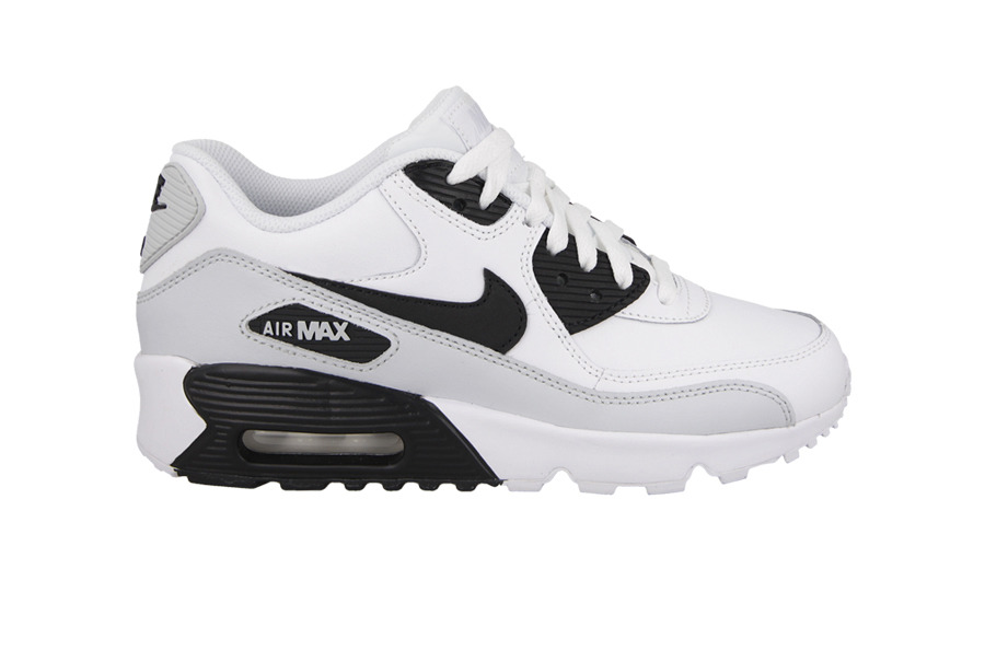 BUTY NIKE AIR MAX 90 LEATHER (GS) 833412 104 PERŁOWY  612247368e