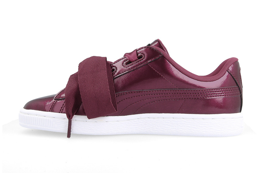 BUTY PUMA BASKET HEART GLAM JR 364917 02