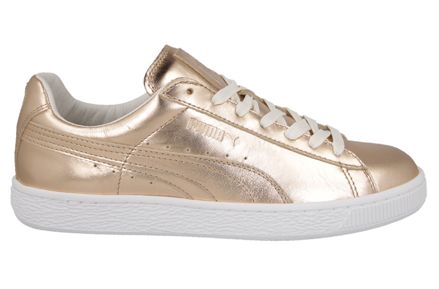 buty puma basket metallic creepers