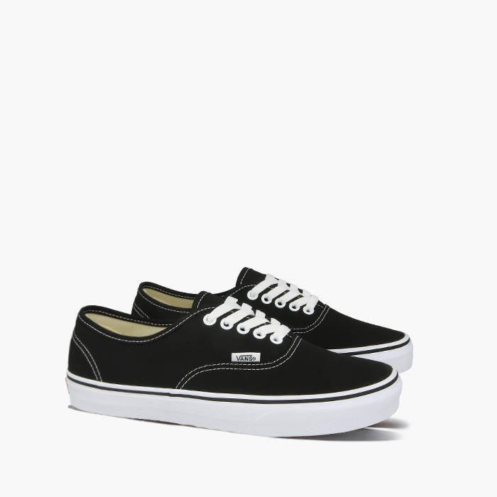 vans authentic całe czarne