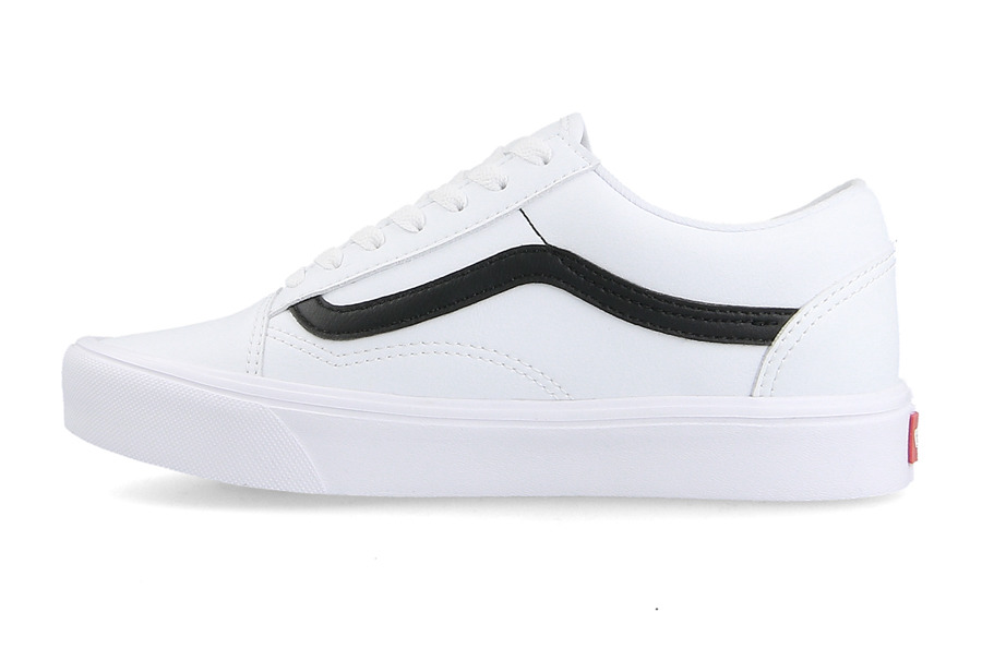 buty vans old skool biale