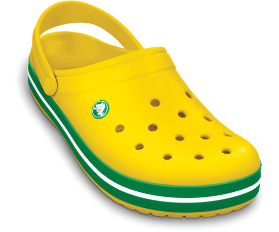 BUTY CROCS KIDS 10998  Yellow Green