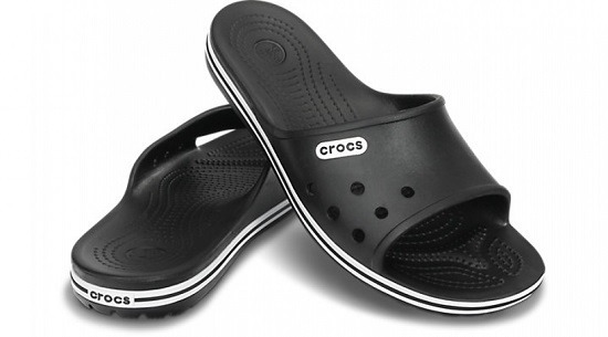 KLAPKI CROCS CROCBAND SLIDE LOW 15692 BLACK