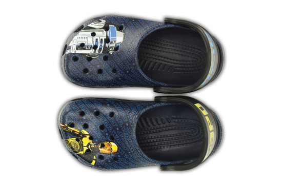 KLAPKI CROCS STAR WARS R2D2 200122 NAVY
